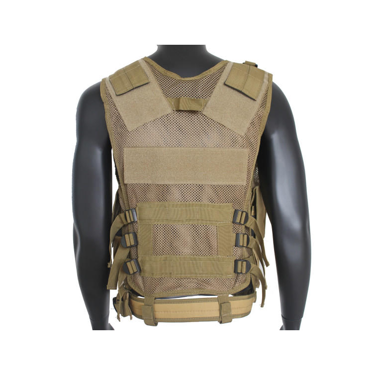 Tactical Vest Military Costume Chest Protectors Gilet Paintball Vest CS Field Outdoor Modular Combat Training Adults Men Special Forces Adjustable