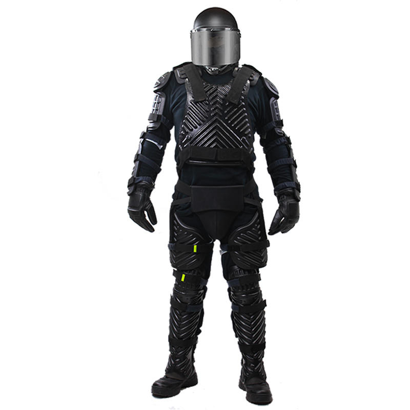 High-Tech Top Grade Material Military Police Duty Anti Riot Work Uniform Suit Gear