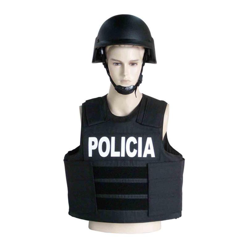 NIJ Level IIIA, III & IV Protection Bullet Proof Tactical Vest