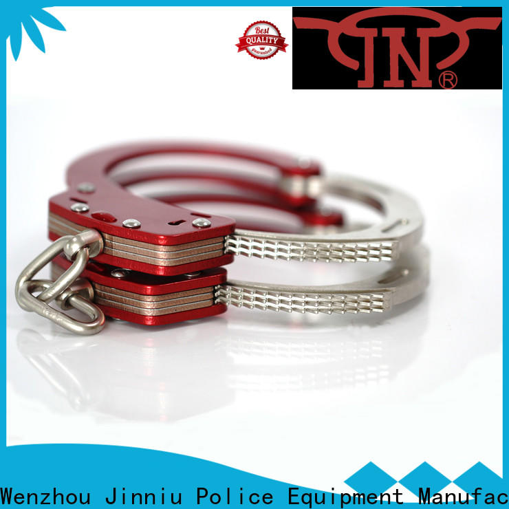 JN New real police handcuffs for business for security