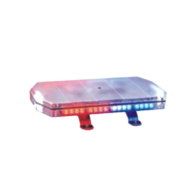 Power LED Strobe Warning Light Security Flicker Intelligent Solar Traffic Light on Police Car