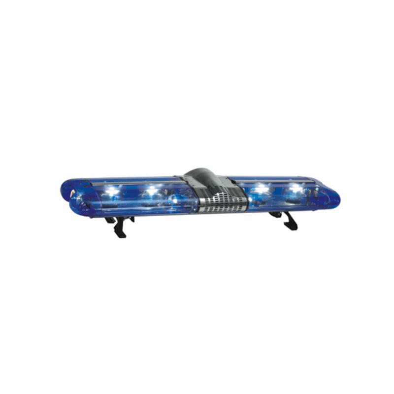 White Red Blue Police Used Emergency Truck Strobe Lights Amber Light Bar