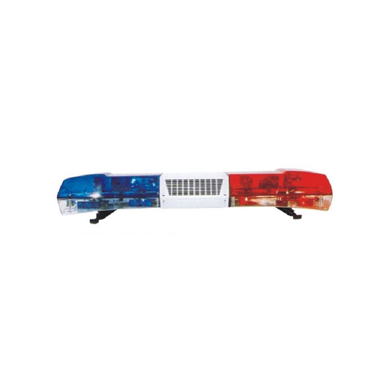 Magnetic Installation Vehicle Police Amber Strobe Rotating LED Warning Light Bar