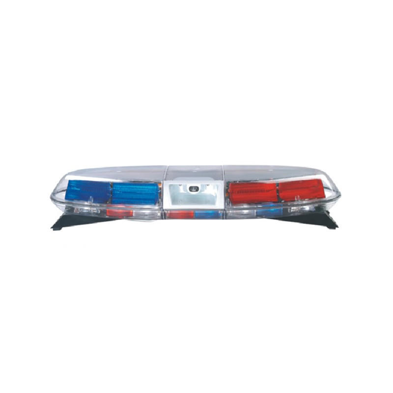 Traffic Police Alarm Warning Strobe LED Red Blue Light Bar On Car Vehicle