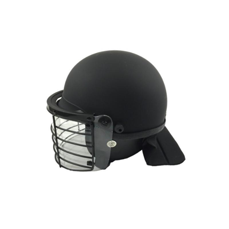Anti Riot Law Enforcement Gear Police Use Equipment Head Protection Visor Hard Helmet