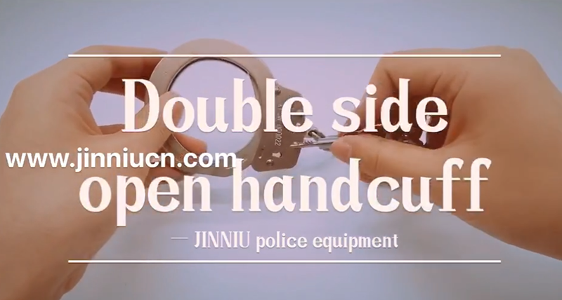 How To Use The Double Side Lock Handcuff and What Is The Features Of it?