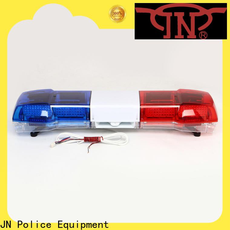 JN Latest triangle police light bar Supply for protect the army
