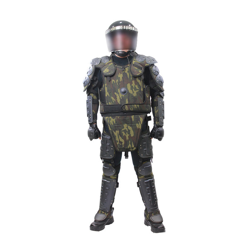 Anti riot gear camouflage riot control suit for army