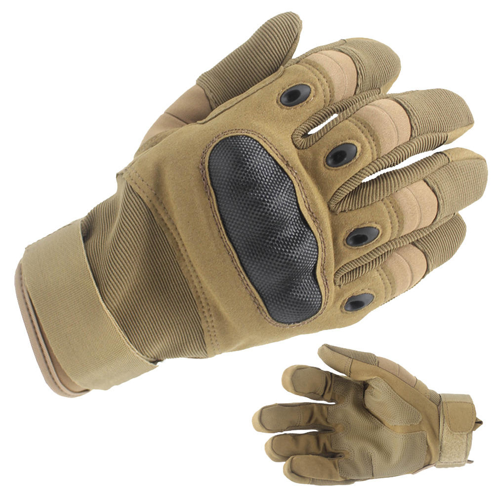 Best Combat Gloves Military Gloves Khaki Brown Oem With Good Price