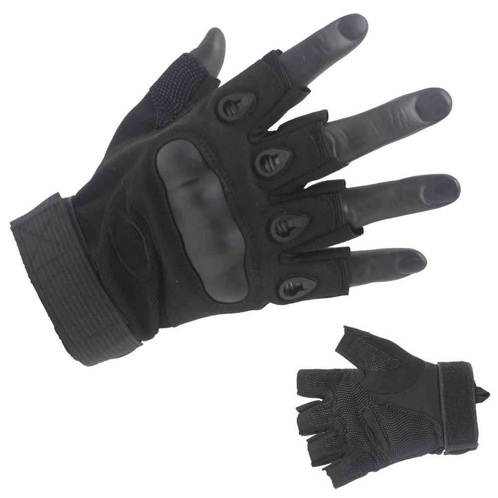 Best Fingerless Half Finger Black Tactical gloves Oem With Good Price
