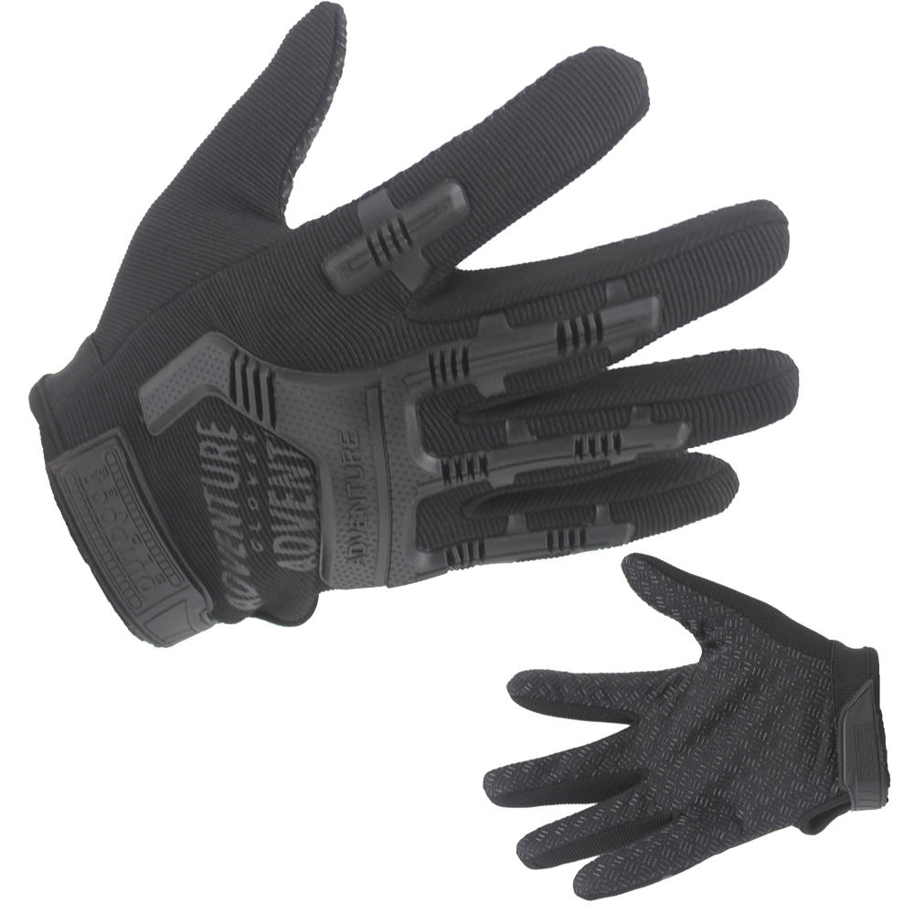 Tactical Gloves Soft Comfirtable Breathable Black Gloves Oem With Good Price-JN