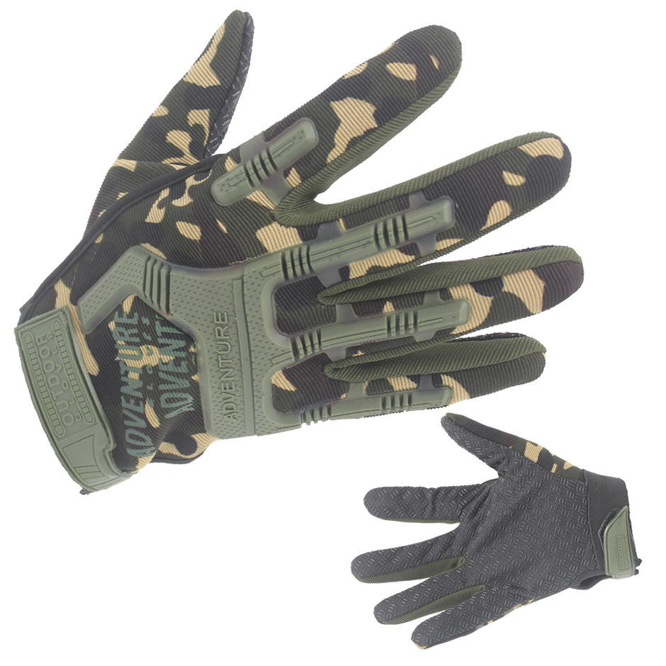 Factory Price Camouflage Tactical Gloves Superfiber Wholesale-JN
