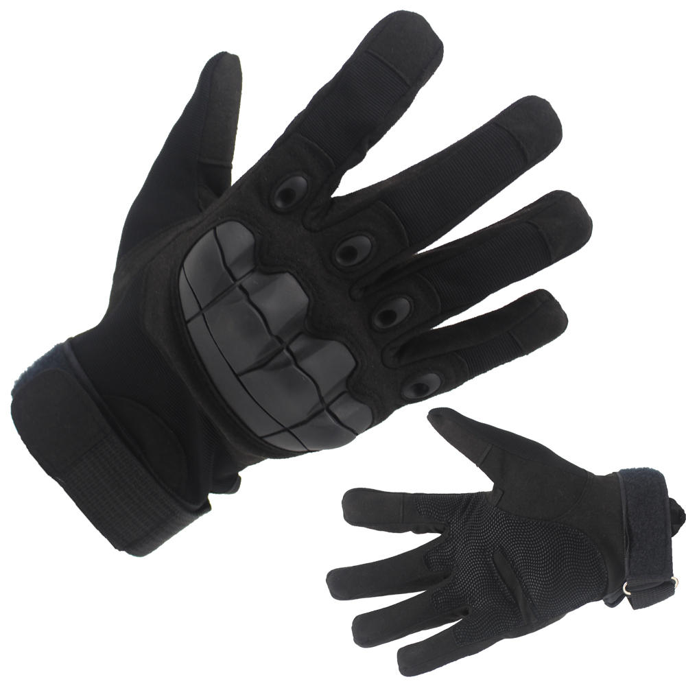 Factory Price Combat Gloves Hard Knuckle Tactical Police Gloves Wholesale-JN