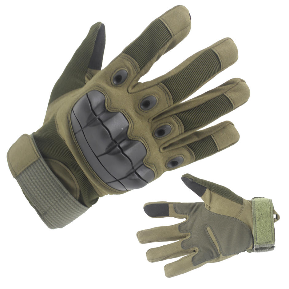China Army Military GreenTactical gloves for shooting, Patrol & Work Customized-JN