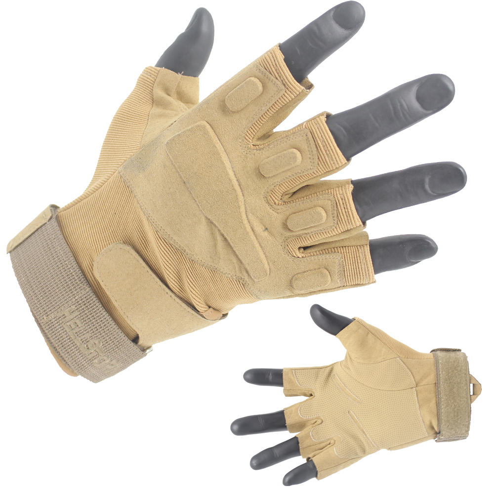 Half Finger Tactical Gloves Different Sizes Wholesale