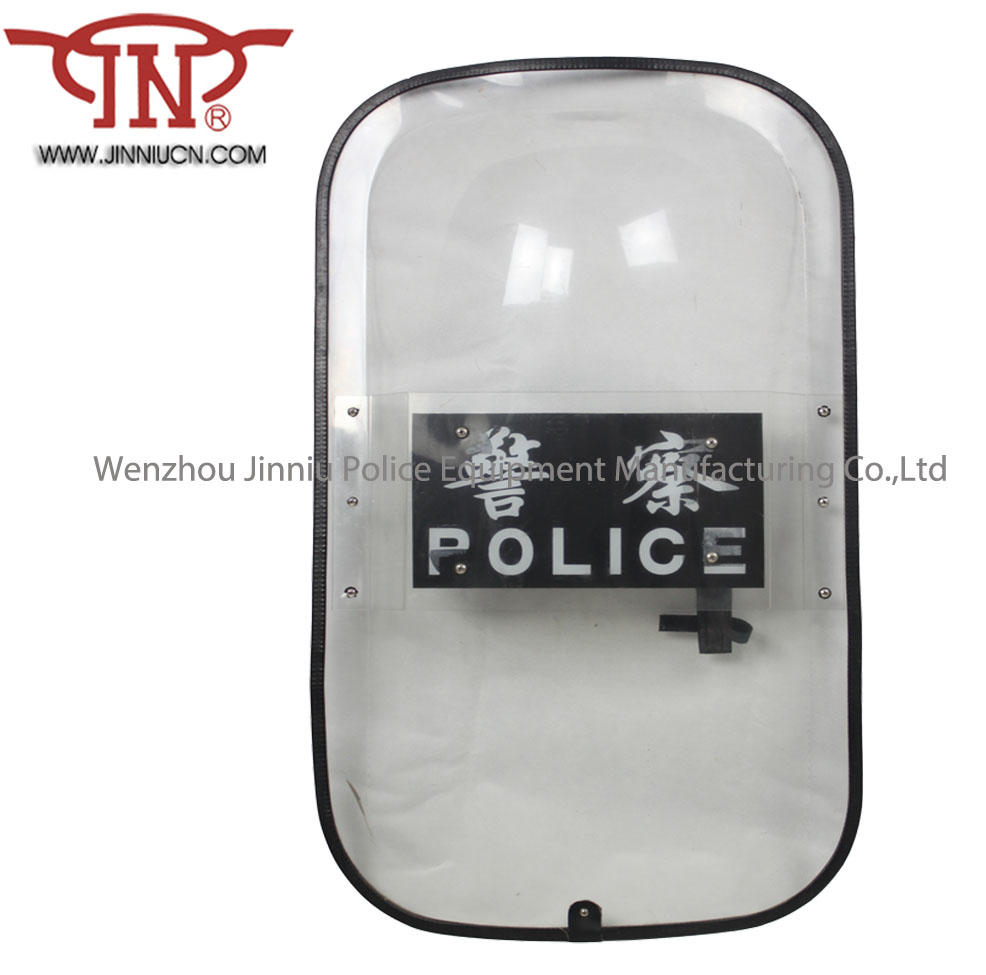 Franch style Curve shape riot shield Anti Riot Control Shield Double plates