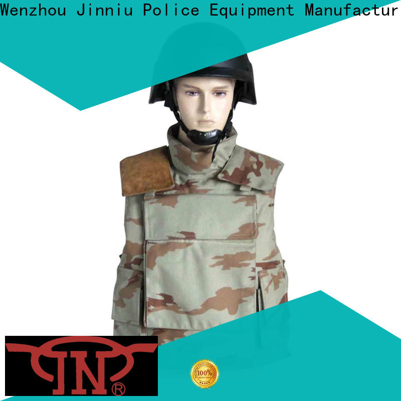 JN Best tactical bulletproof vest with plates for business for officer's