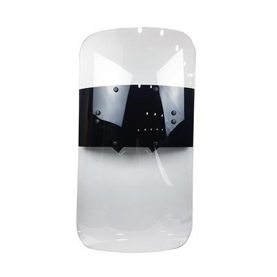 UV stabilized polycarbonate riotcontrol shield transparent PC anti-riot police shield