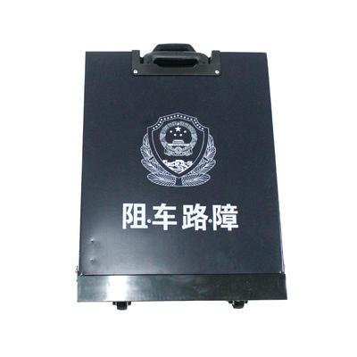 Remote control police equipment stainless steel road blocker tire killer road block
