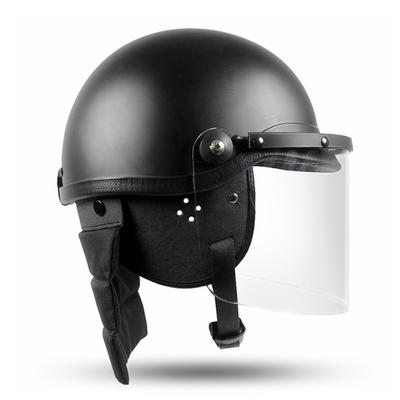 Quality Anti Riot police Helmet With Visor for Security Use