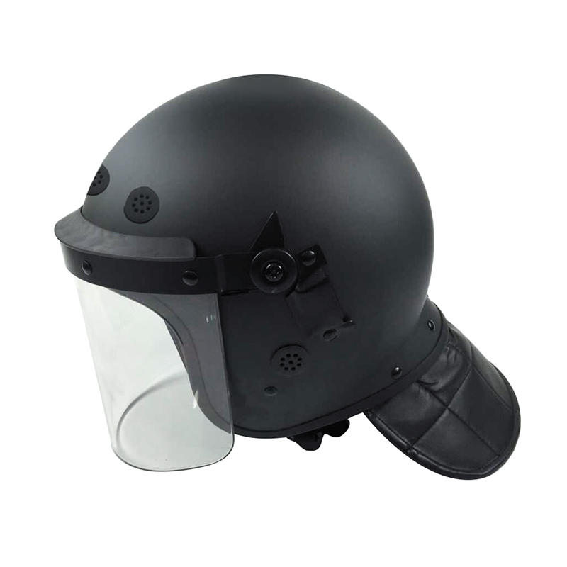 High Quality riot helmet Anti Riot Helmet With Visor for Security Use